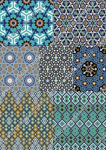 کاشی-ایرانی-اسلامی-سنتی-گلیم