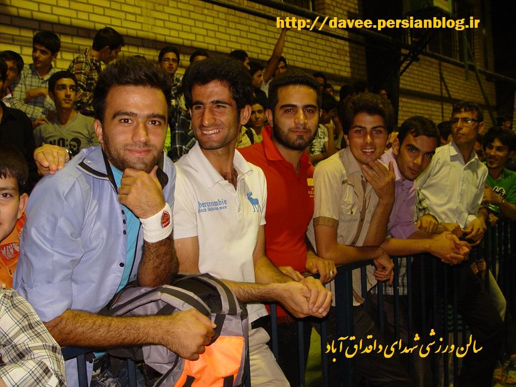 سالن ورزشی شهدای داقداق آباد+فیلم اغتشاش