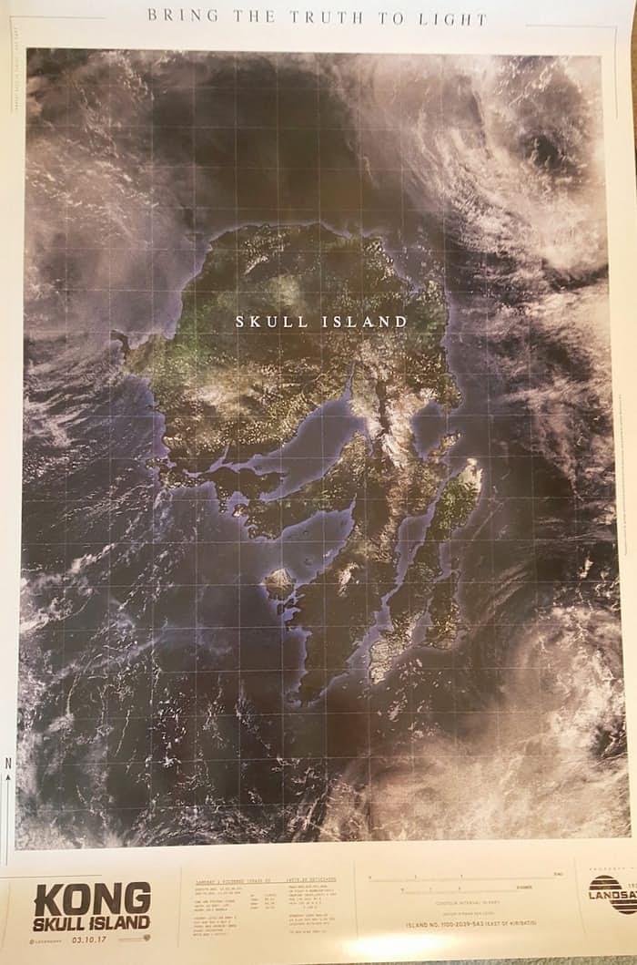 نقشه جزیره اسکال