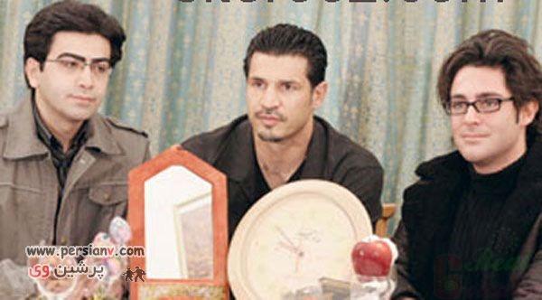 عکس محمدرضا گلزار و فرزاد حسنی و علی دایی