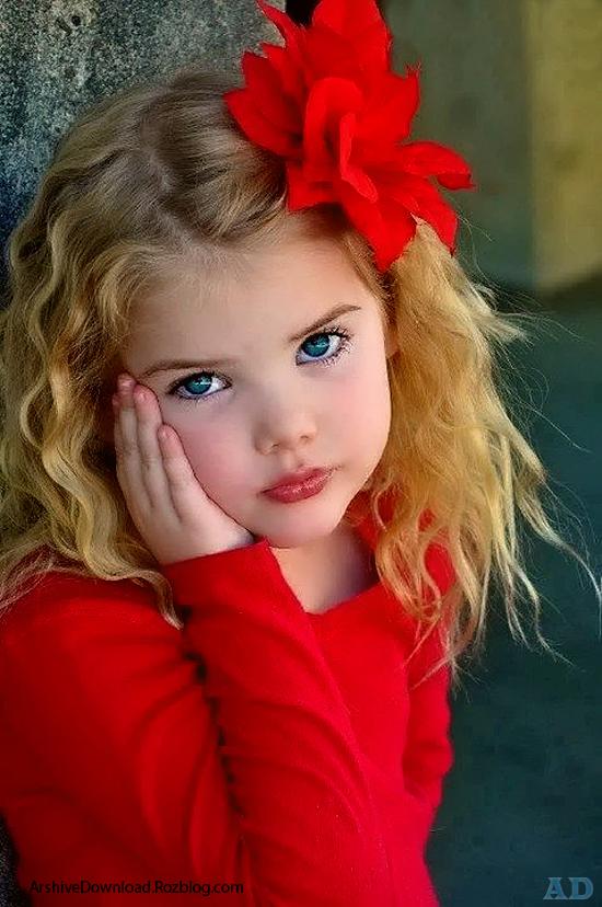 عکس زیبا ترین کودکان جهان