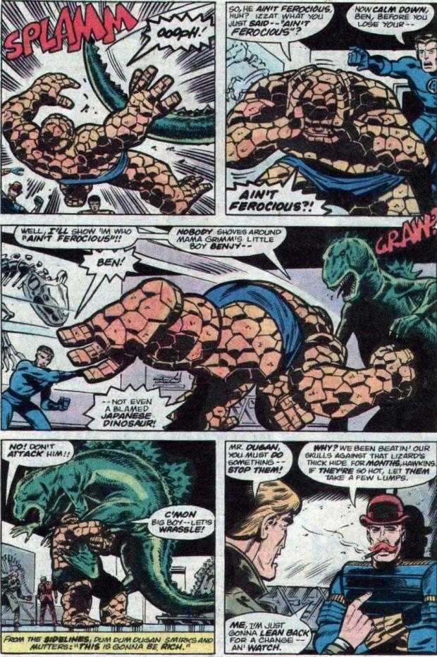 4- گودزیلا بر علیه چهار شگفت انگیز (Fantastic Four vs. Godzilla)