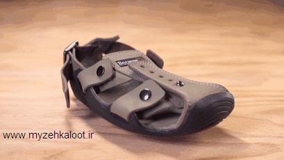 کفشی که همراه با پا رشد می کند