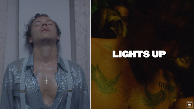 download new song  Harry Styles – Lights Up