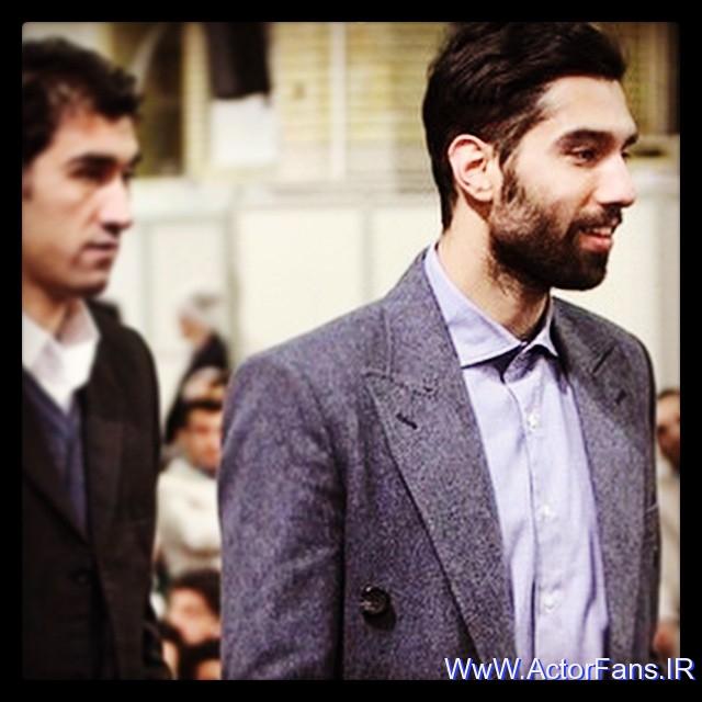 هواداران والیبال و سعید معروف - سید محمد موسوی