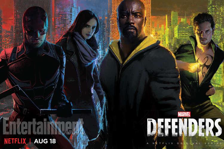 پوستر سریال defenders