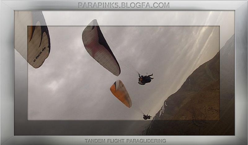 پرواز تفریحی پاراگلایدر