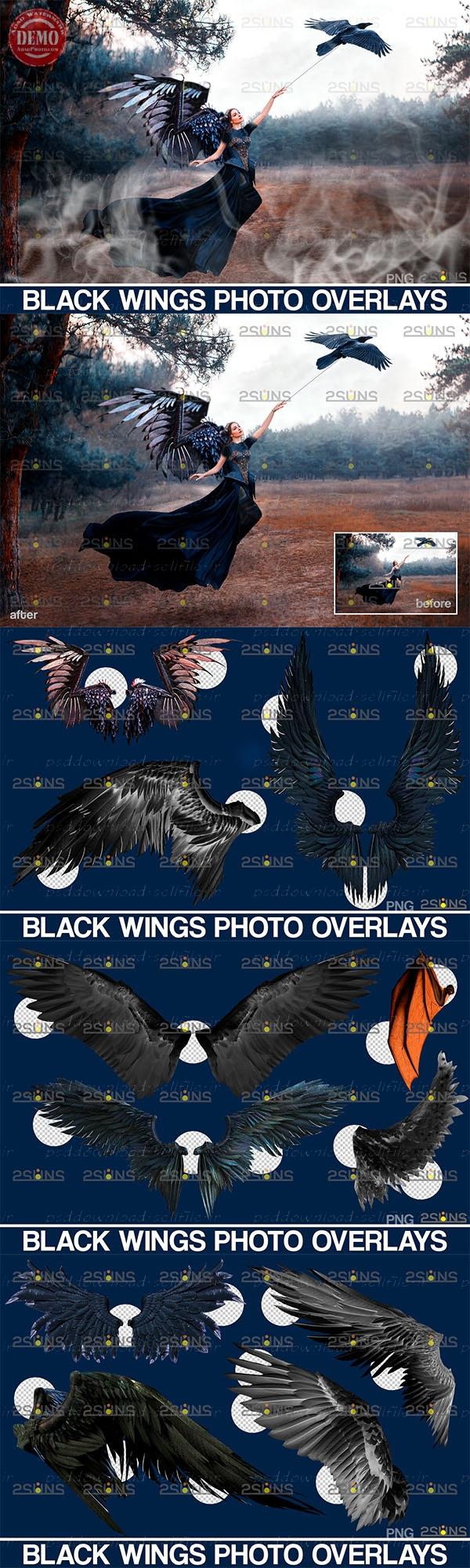 افکت -بالهای-سیاه
