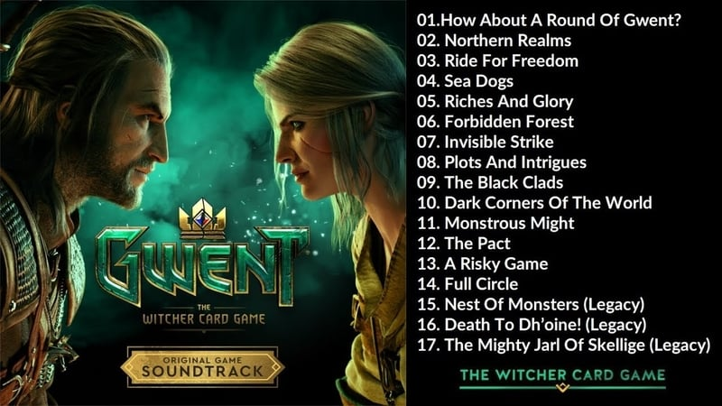 gwent soundtrack list