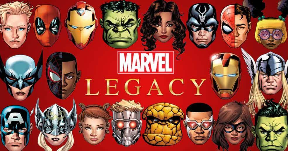 کمیک مارول legacy