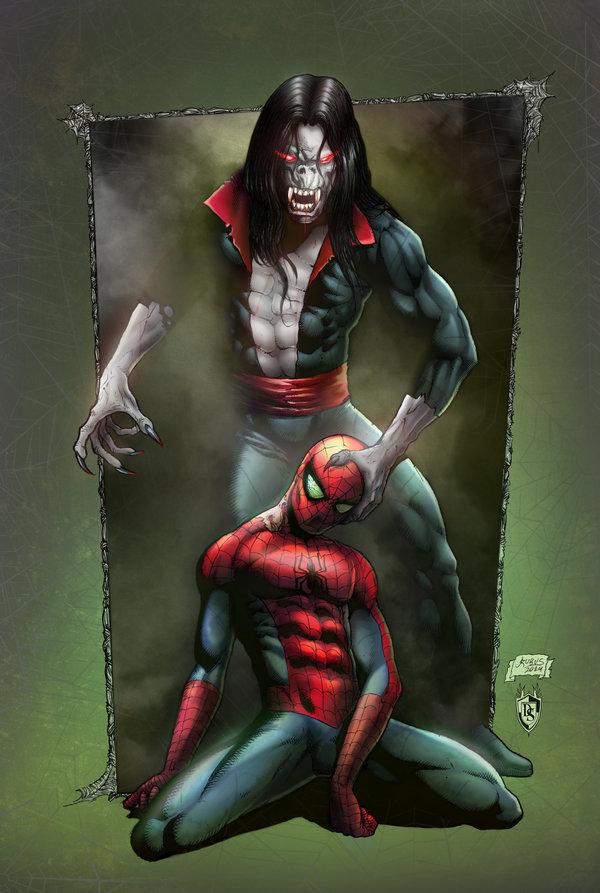 مرد عنكبوتي خون آشام