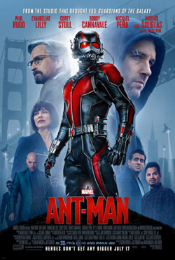 پوستر فیلم مرد مورچه ای
