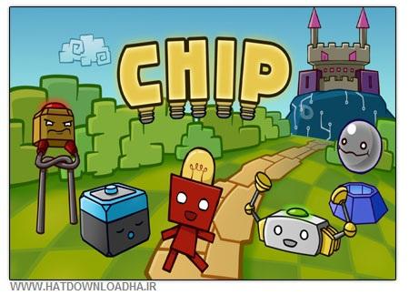 Chip Cover دانلود بازی سرگرم کننده و کم حجم Chip