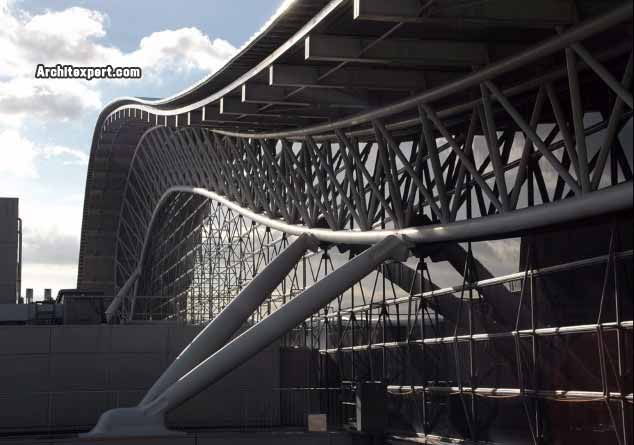 Kansai International Airport Terminal - Piano - Exterior_Architexpert.com