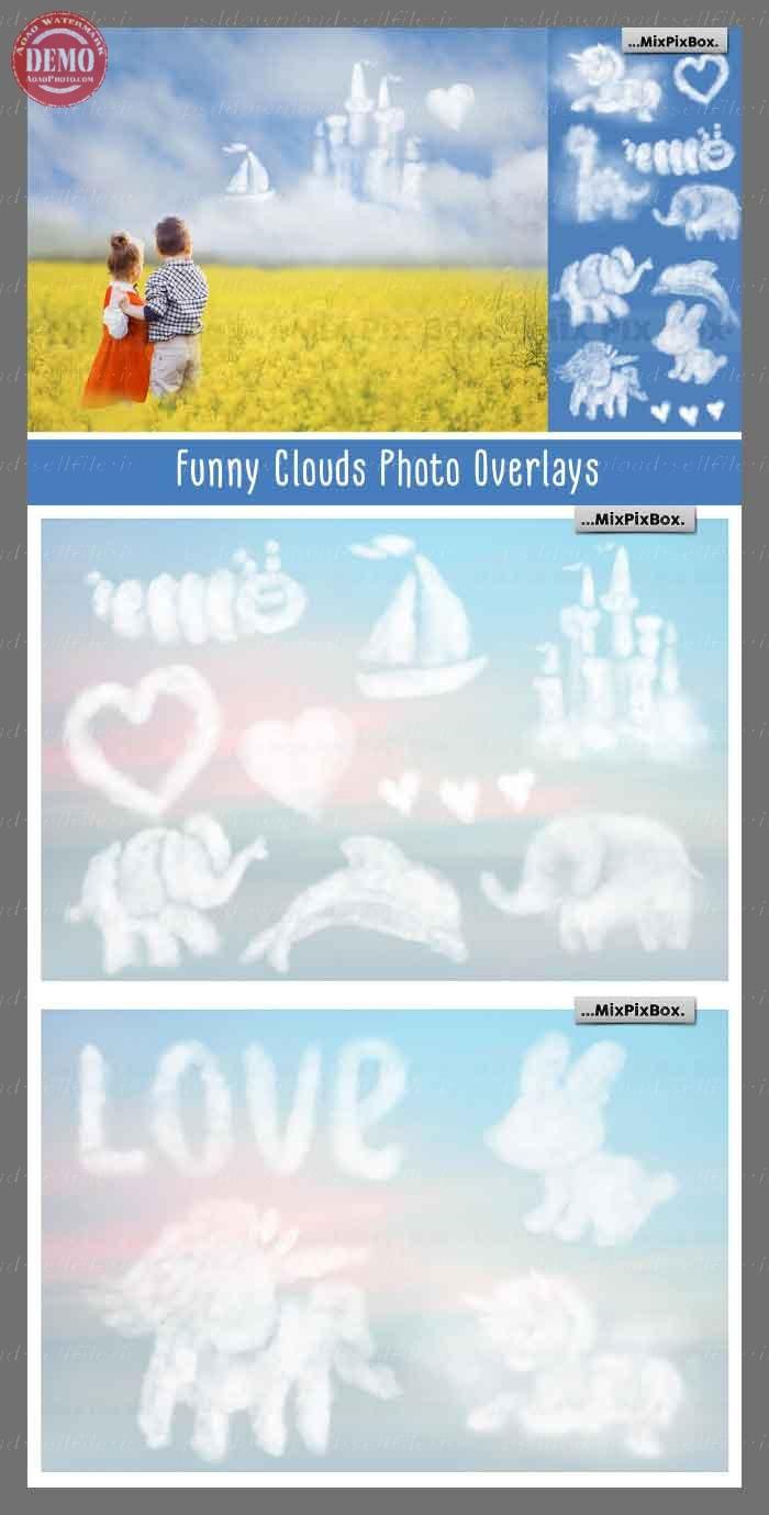 افکت ابرهای جالب