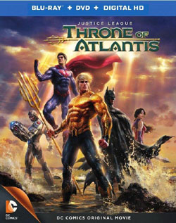 كارتون جدید Justice League Throne Of Atlantis