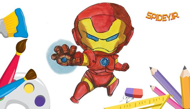 مسابقه نقاشی قهرمانان مارول - spidey.ir