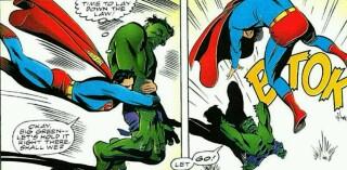 سوپرمن،هالک،لحظه تاریخی