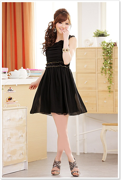http://aksmodel.rozblog.com-مدل لباس مجلسی كوتاه دخترانه کره ای