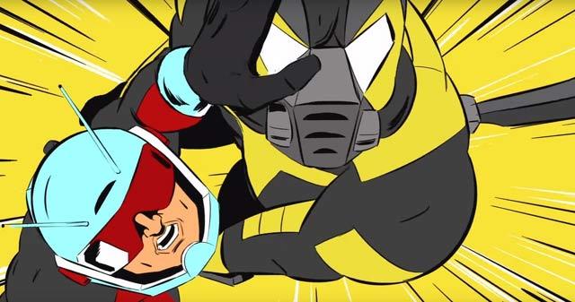 کارتون مرد مورچه ای، کارتون انتمن، مرد مورچه ای، اسکات لانگ، کارتون های مارول، ant-man