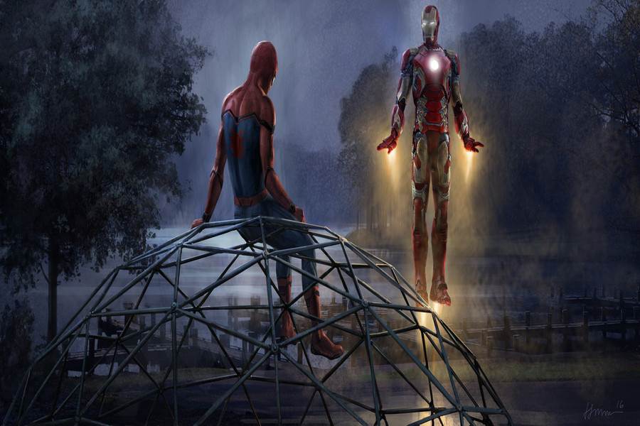 مرد اهنی مرد عنکبوت