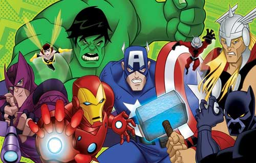 کارتون avengers