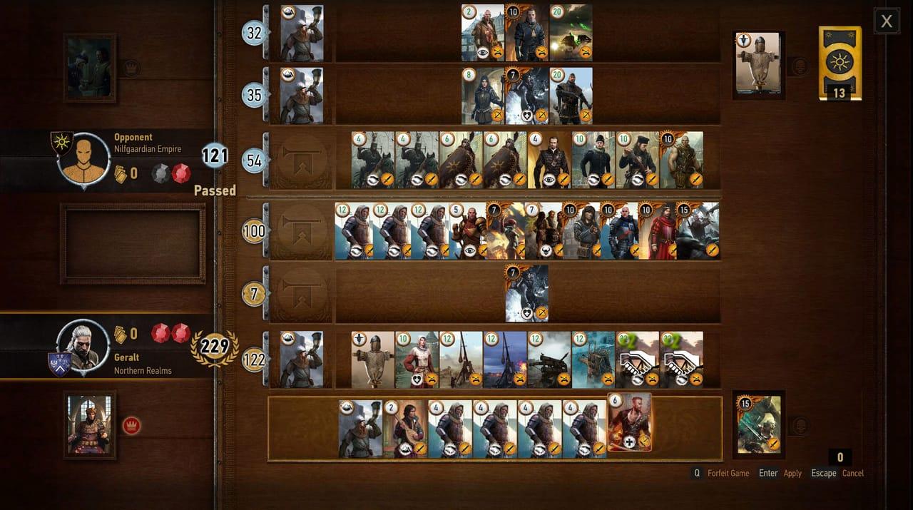 Witcher 3 Gwent