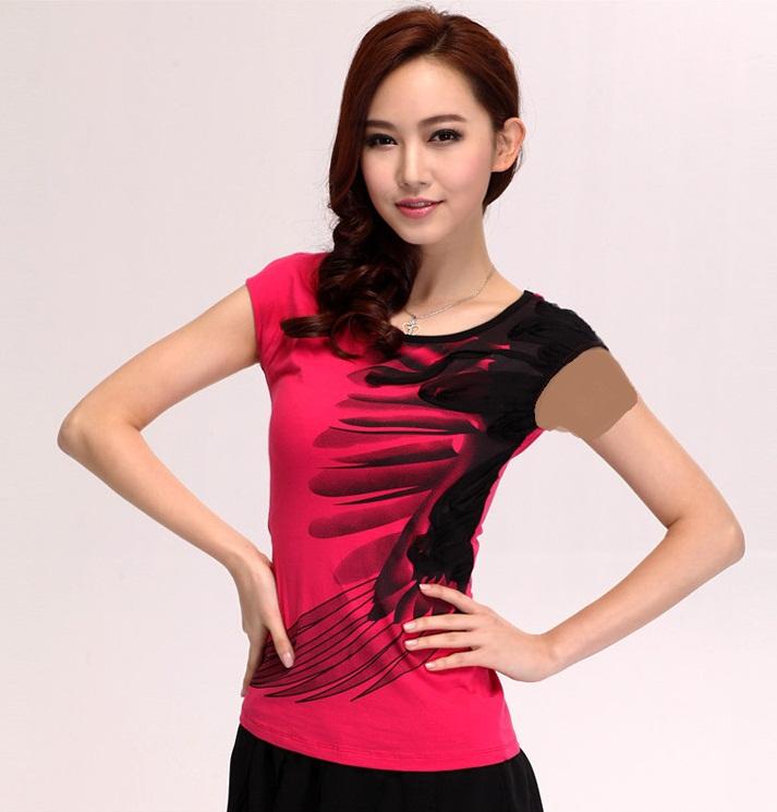 مدل های جدید تی شرت تابستانی دخترانه 93