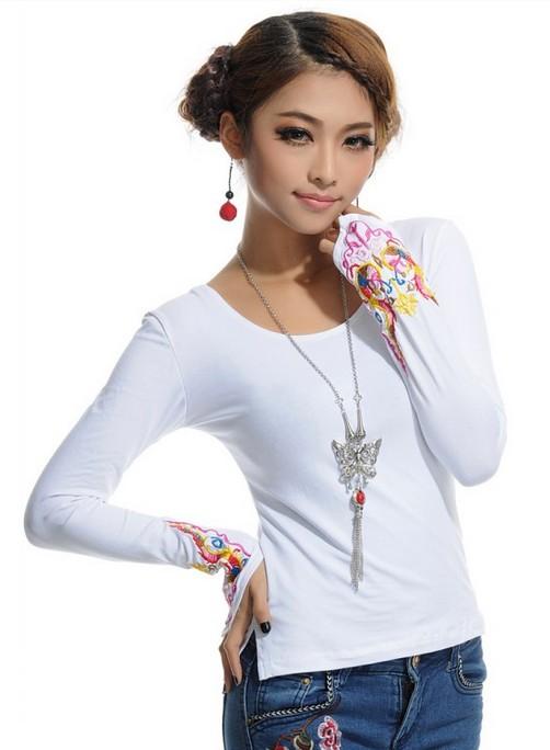 http://aksmodel.rozblog.com-تی شرت آستین بلند زنانه و دخترانه كره اي