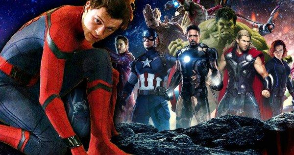 مرد عنکبوتی - انتقام جویان جنگ بینهایت