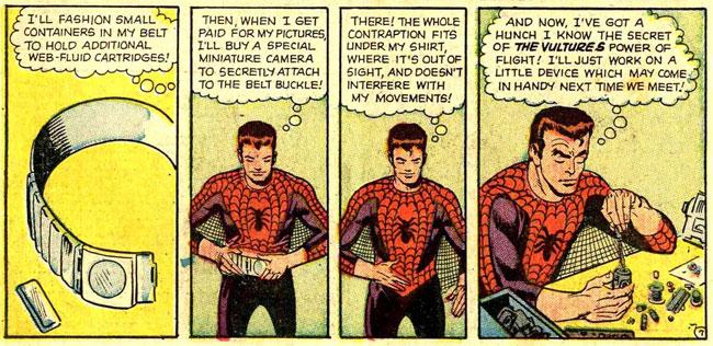 اسپایدرمن تجهیزات زیادی نداره ولی ازشون خوب استفاده میکنه! باهاشون آشنا بشیم!