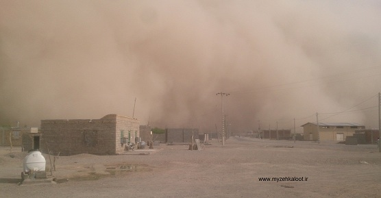 طوفان در شهر زهکلوت