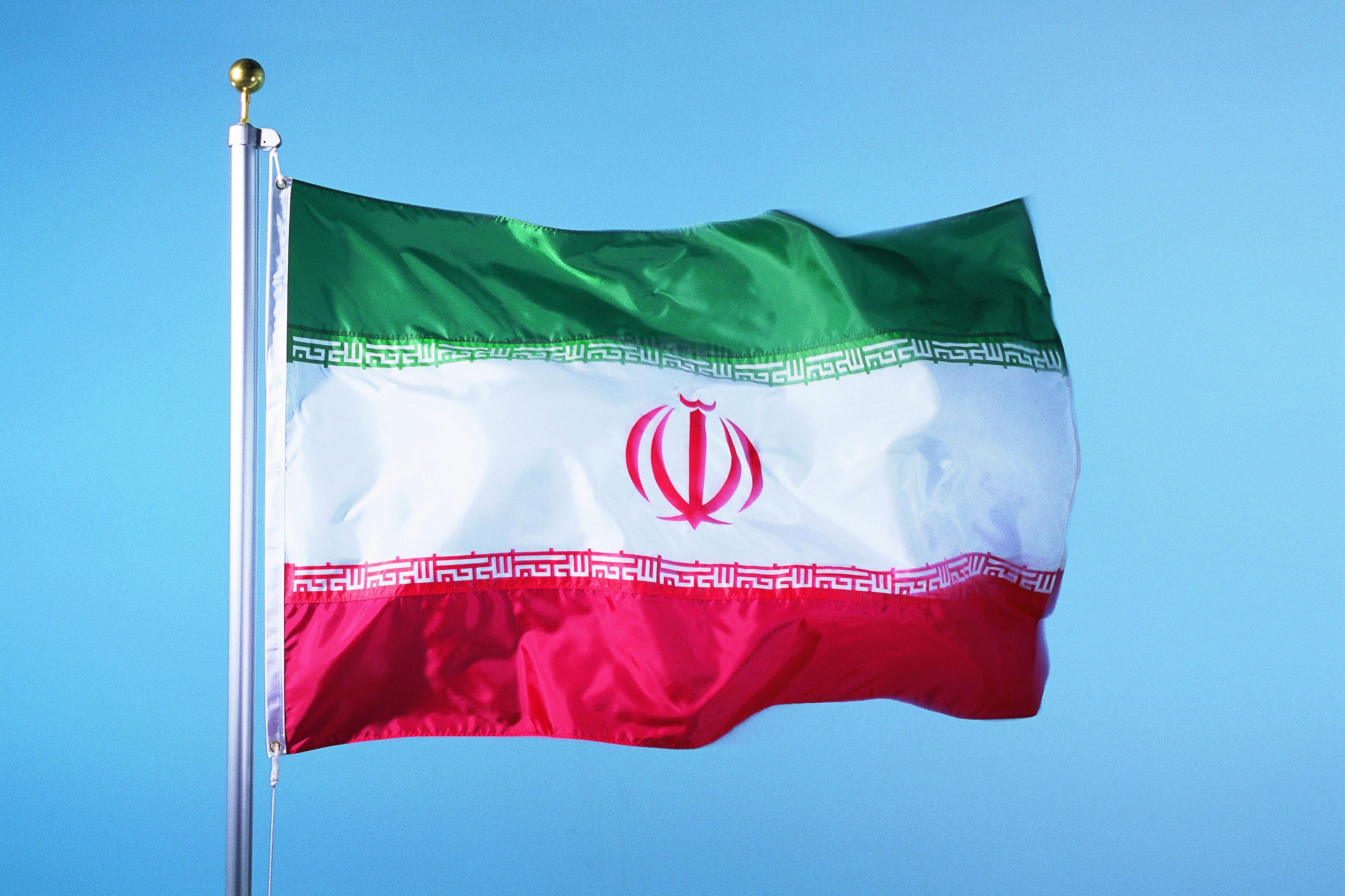 IRAN FLAG پرچم جمهوری اسلامی  ایران