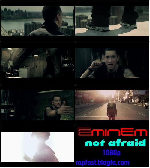 دانلود بیت اهنگ Eminem Not Afraid و متن شعر موزيك هاي ايراني و خارجی