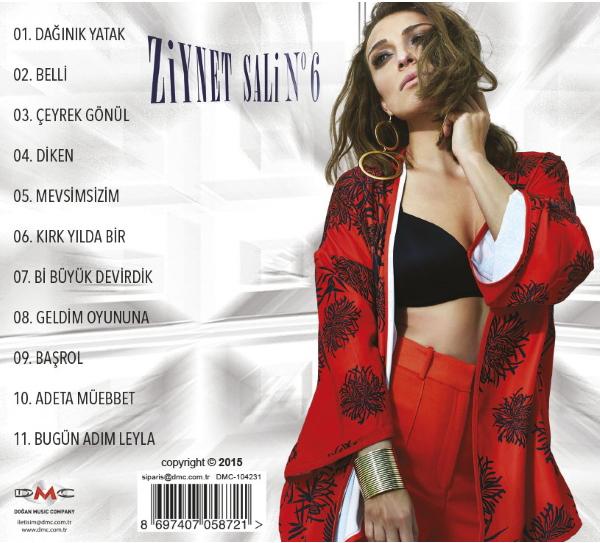 دانلود آلبوم ziynet sali بنام no 6  در یک فایل زیپ