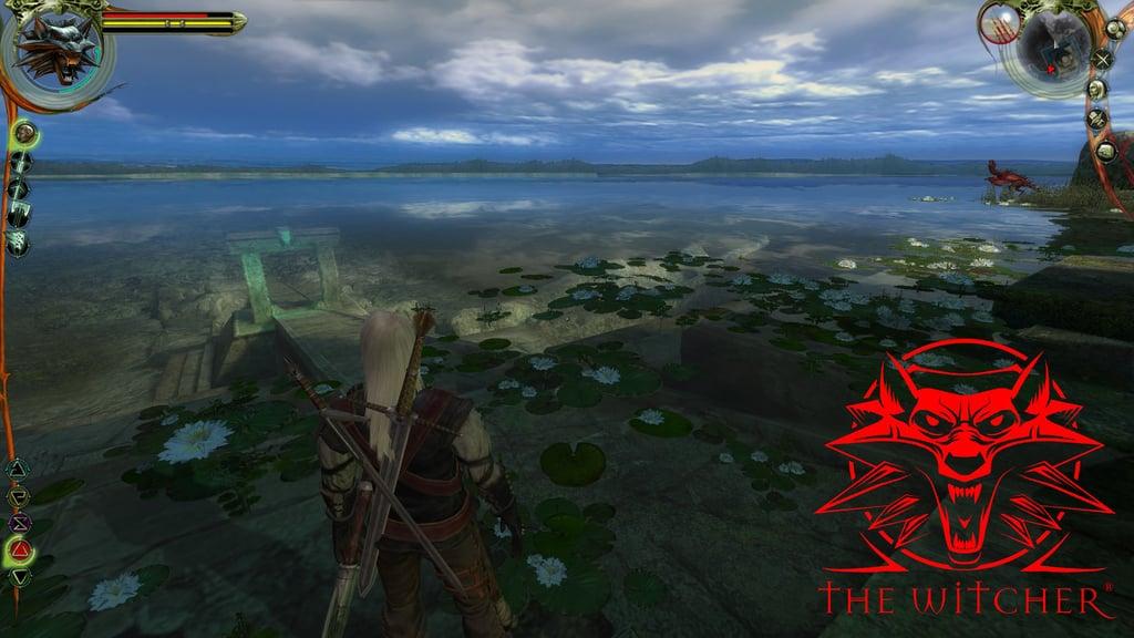 دانلود بازی ویچر 1 enhanced - witcher 1 geralt lakeside wallpaper