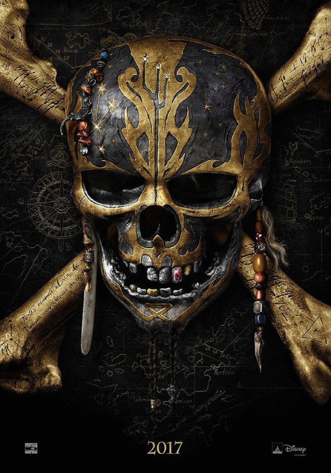 پوستر دزدان دریایی کارائیب