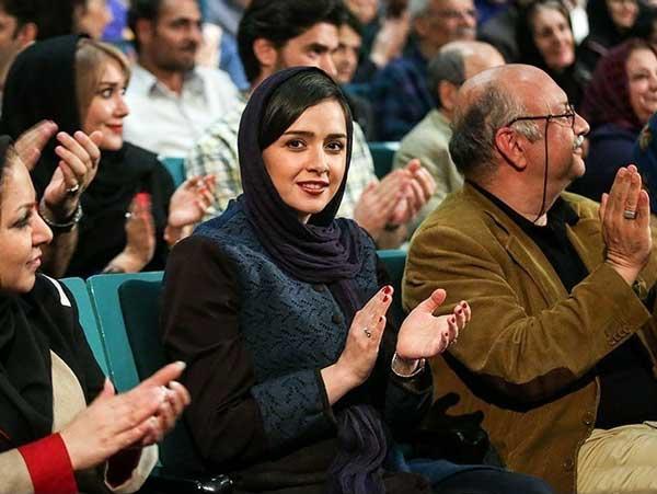 عکس های جدید ترانه علیدوستی در جشنواره فیلم پروین اعتصامی