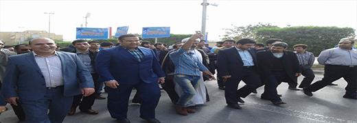 حضور دبیر تشکل امید در اجلاس سراسری تشکل ها در بوشهر