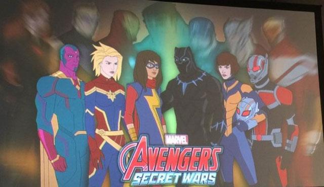 پیش نمایش فصل 4 از کارتون Avengers assemble را تماشا کنید