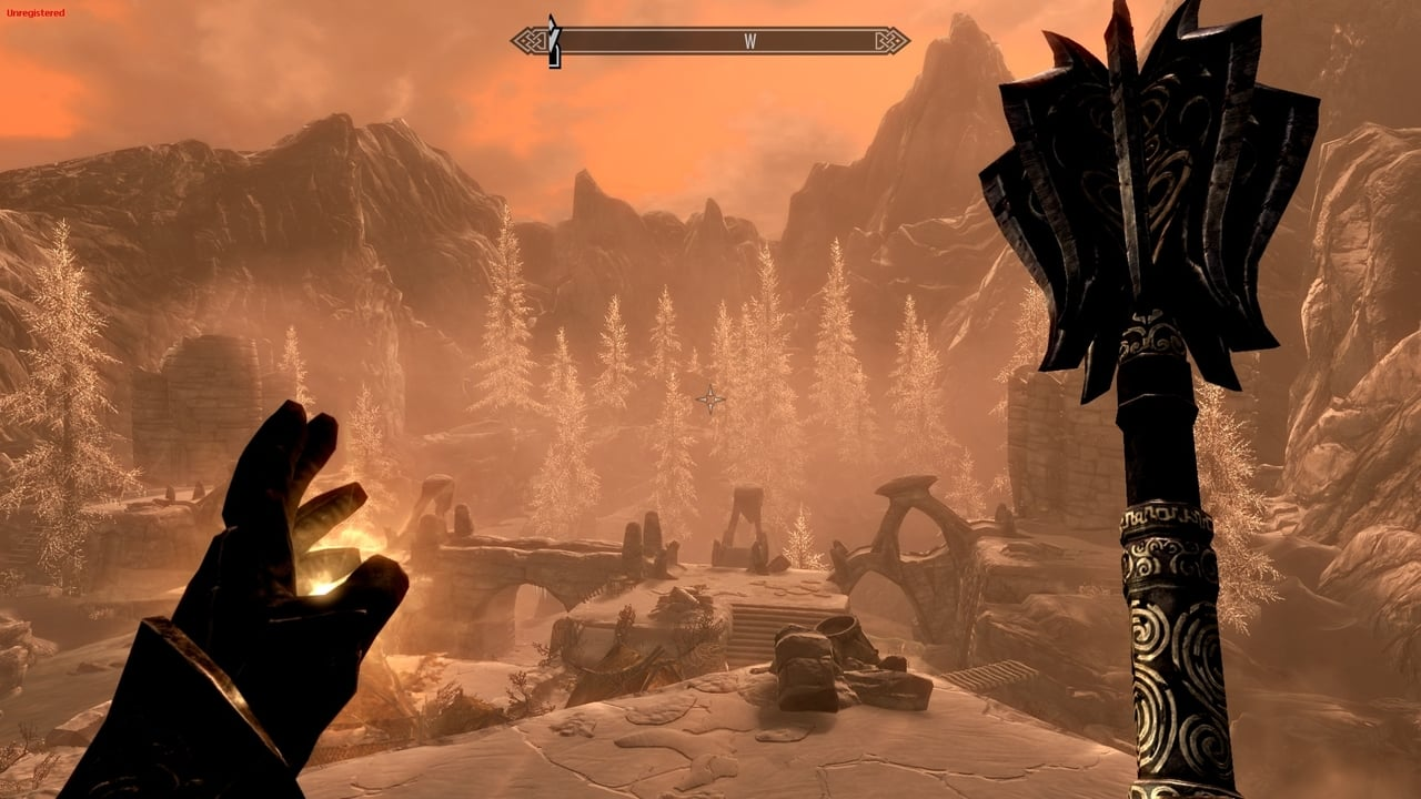 skyrim-first-person-mace-healing