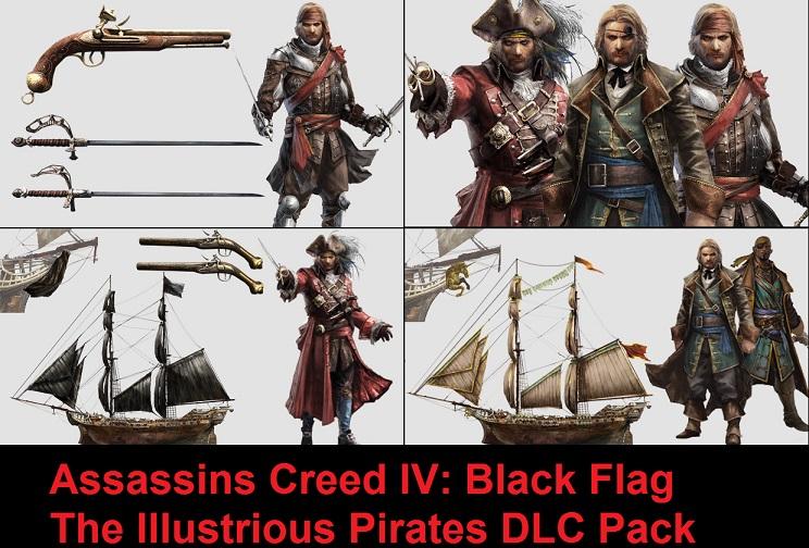 اضافات لعبة Assassin's Creed Black