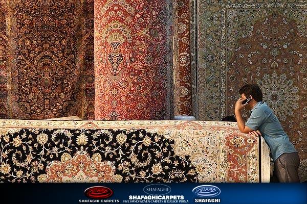 ،روش فرش دستباف و ماشینی شفقی تبریز