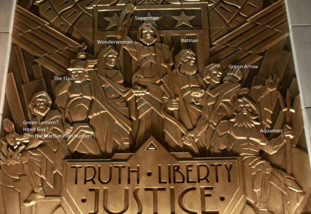 مجسمه ی لیگ عدالت