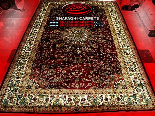 فرش دستباف شفقی تبریز