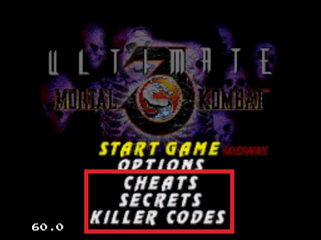 دانلود و آموزش رمزهای Mortal Kombat 3 Sega