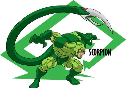 عکس scorpion