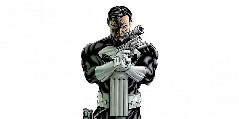 punisher loading his gun