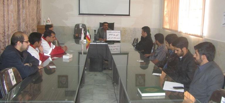 دوره تخصصی نجات در حوادث ترافیکی جاده در گلستان برگزار شد جمعیت هلال احمر شهرستان نایین