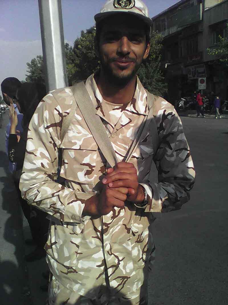 حمید براتی - سرباز